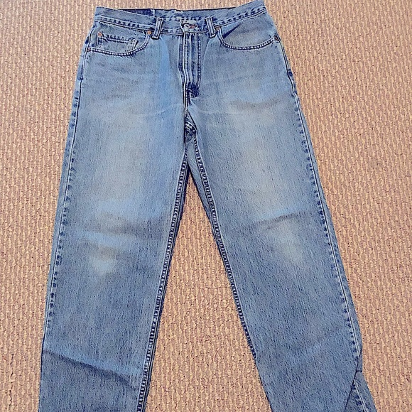 Levi Red Tag Retro Light Wash Jeans Size 34/32